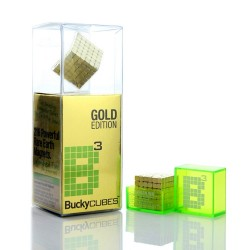 Buckycubes Gold Magnets...