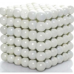 White Buckyballs Magnets...