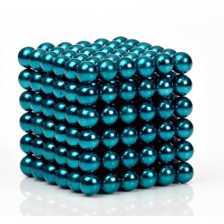Blue Green Magnetic Balls