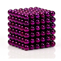 Purple Magnetic balls