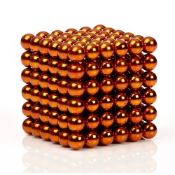 Orange Magnetic balls