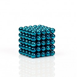 Blue-green magnetic balls