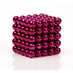 pink magnetic balls