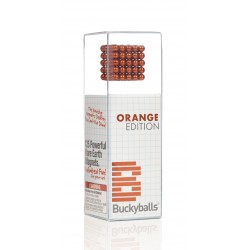 Orange Buckyballs magnets