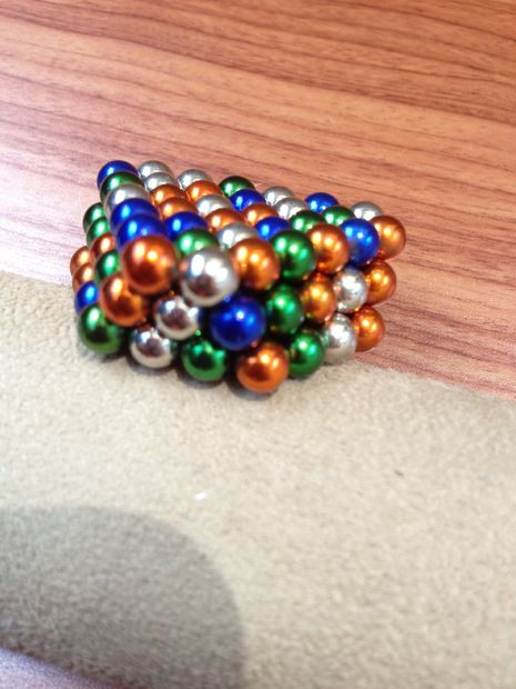 how to make magnetic balls